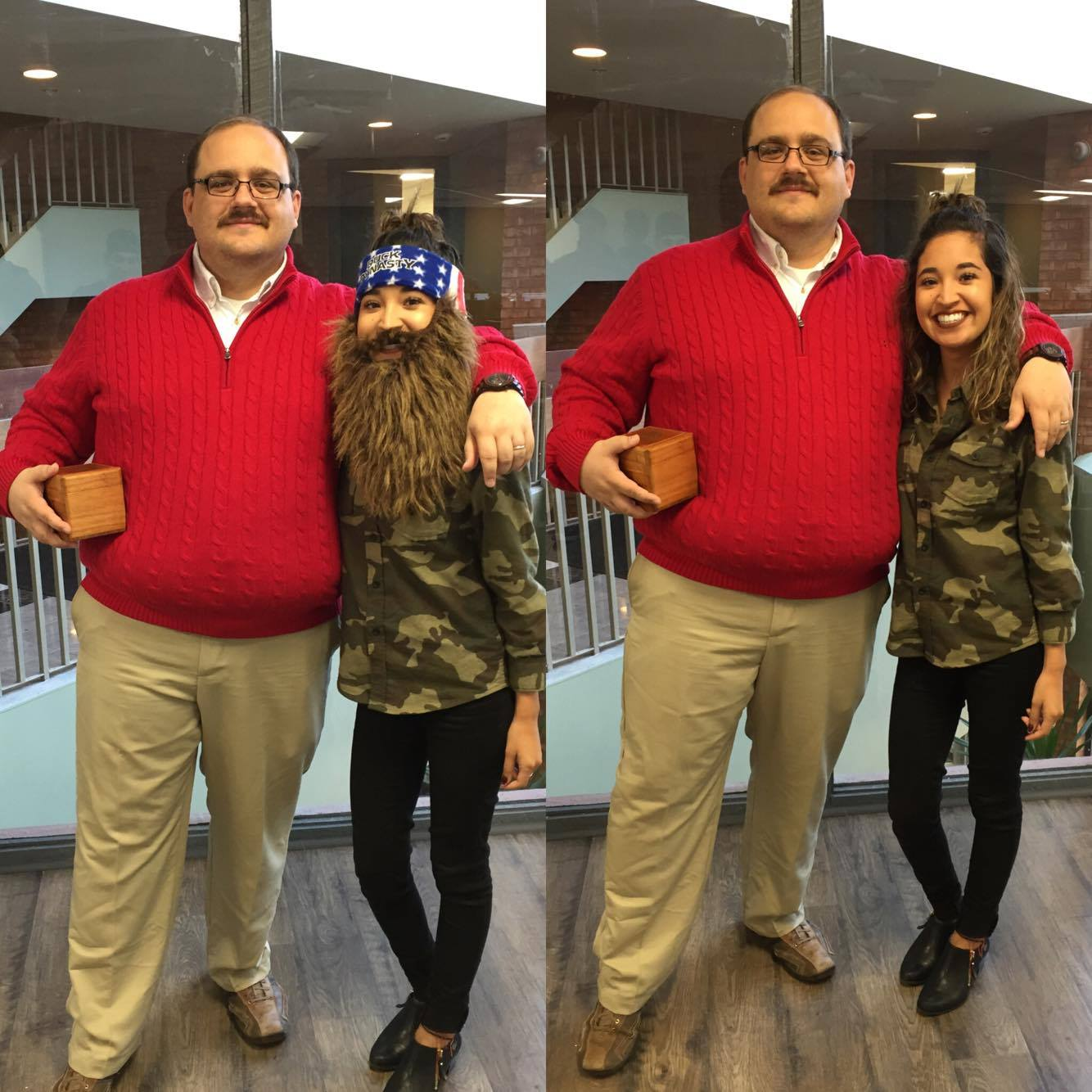 Red Sweater Style with Ken Bone - Cheetah Talk y Mas